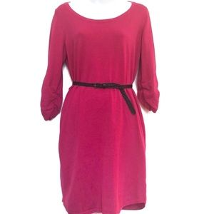 ❤️ NY Collection Pink Long Sleeve Dress